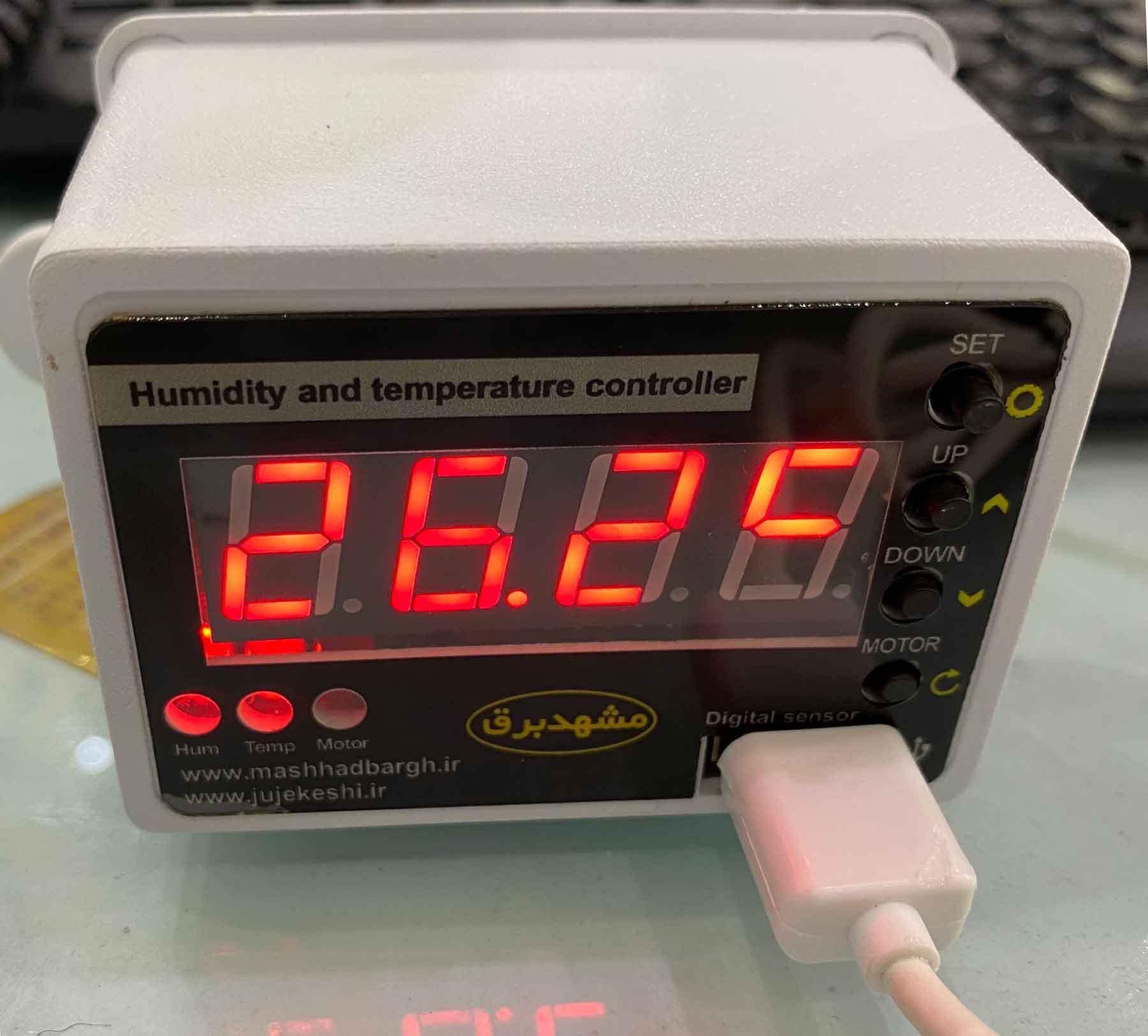 خرید کیت کنترلر دستگاه جوجه کشی از دی جی کالا dgkala
